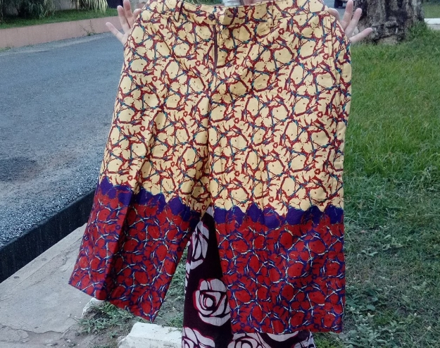 shorts from woodin material